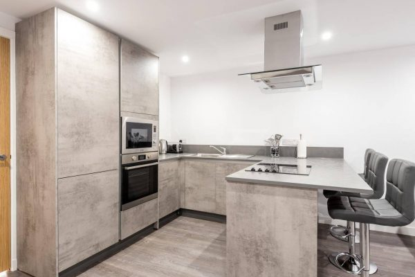 Castle Hill Apartments kitchen