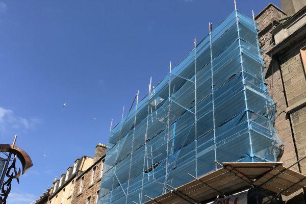 Castle Hill Apartments under construction